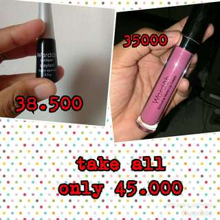 Eyeliner + lip cream 10
