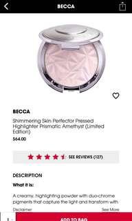becca highlighter