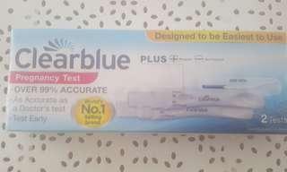 Clear blue plus  pregnancy test x2 expiry 31/05/2019