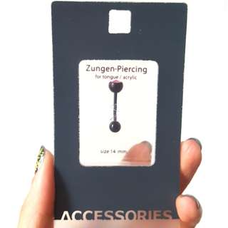 脷環 Acrylic Tongue piercing accessory