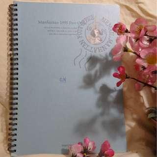Large Korean Notes Book (Notebook Ukuran Besar dari Korea) - Cocok untuk Kerja/Kuliah/Sekolah (Elegant Look)