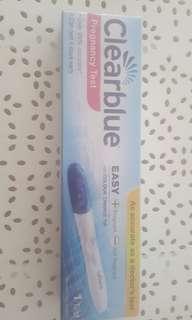 Clear blue easy pregnancy test x1 expiry 31/12/2019