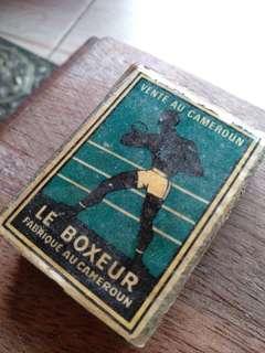 Vintage - matchbox (Le Boxeur)