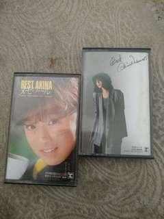 Cassette Tapes, original, 中森明菜