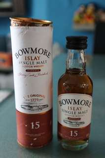 Bowmore Single Malt Scotch Whisky 15 years