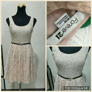 Forever21 laced dress