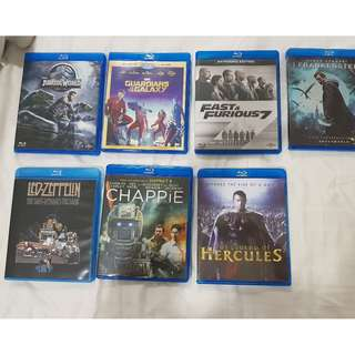 Original Blu Ray disks for sale