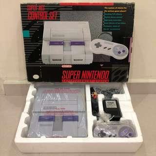 NOS SUPER NES 1991