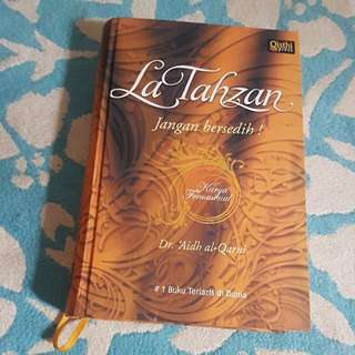 La Tahzan hard cover