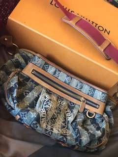 Louis Vuitton Denim Sling Bag