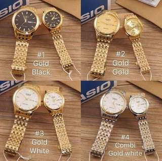 Couple ventage watch