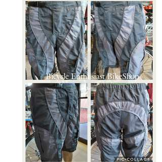 Mountain Bike Shorts MTB Shorts Bicycle Shorts *Gearbox Brand* with Fixed Ordinary Padding