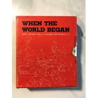 When the World Began Books Set