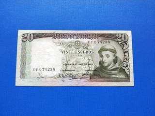 Old banknotes 1954