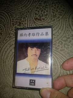 Cassette tape, original, 堀内孝雄