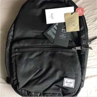 Herschel Lawson limited edition backpack Black