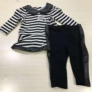 CK Calvin Klein Top & Pants Set