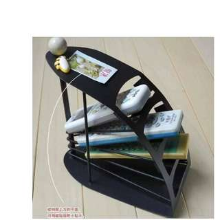 4 Layers Remote Control Holder Stand Storage Rack Organizer