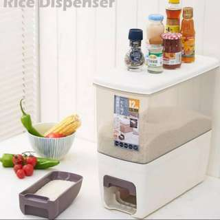 Japanese rice dispenser 12kg