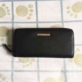 100% ORIGINAL | BERSHKA Wallet | BERSHKA Black Wallet | BERSHKA Zipper Wallet | Dompet BERSHKA