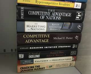 Marketing/Competition/Japanese market books