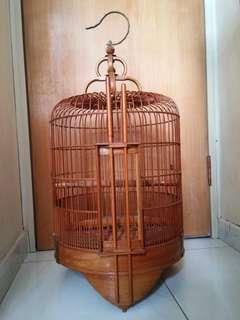古典竹製鳥籠