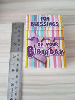 101 blessings on your birthday