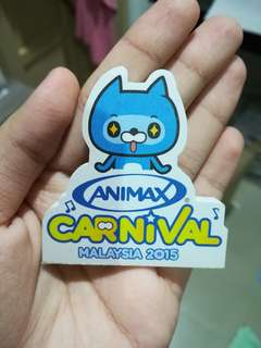 ANIMAX mini sticker note pad