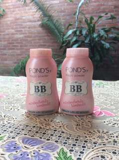 Bedak BB Ponds Pink