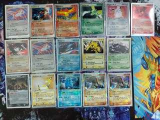 Pokemon singles - EX booster set singles
