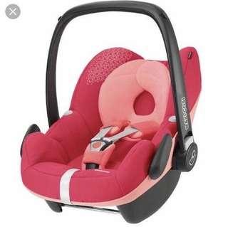 Maxi Cosi Pebble Pink Rose Car Seat
