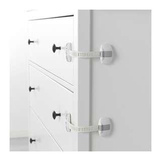 IKEA PATRULL Multi latch, white