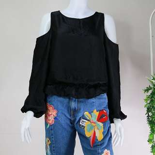 Bershka Black Top