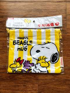 Snoopy毛巾袋仔