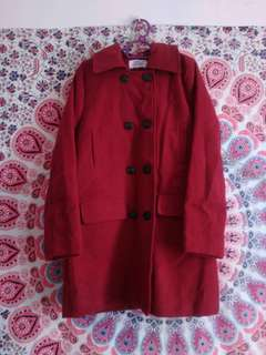 Maroon Red Jacket/Coat for Autumn & Winter