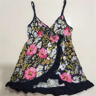 Authentic Hollister Floral Camisole Tank