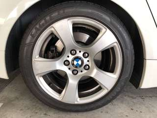"BMW 17"" Rims with Good Year Tyres"