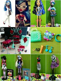 Monster High Take all! Free Shipping!