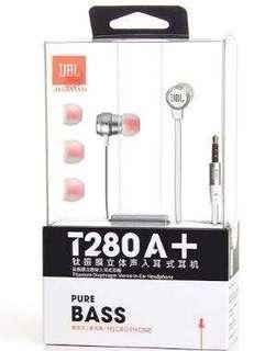JBL T280+ pure Bass in-Ear Earpiece