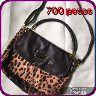 MARC JACOBS LEOPARD BAG (USED)