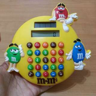 M&M's Solar Calculator - collectible merchandise