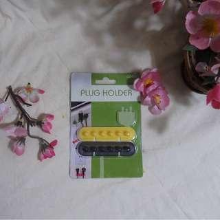 PLUG/CABLE HOLDER Simple KOREA ORI (Pemegang Kabel/Charge)