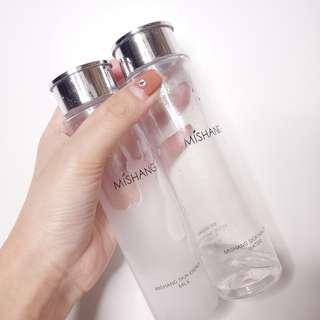Dvz' colour energy milk + healthy water