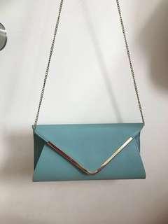 90% new Clutch Bag 硬身手挽上肩兩用信封手袋 - 極少用