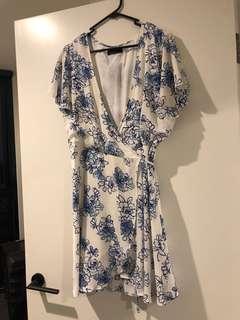 Ally Fashion size 16 wrap dress