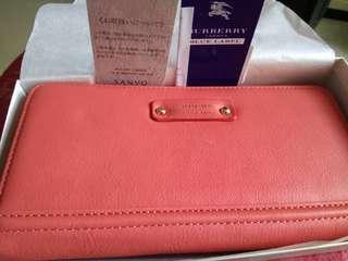 Buberry blue label wallet