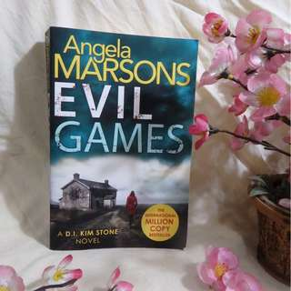 EVIL GAMES (Novel Kriminal Fiksi Inggris/English Crime Fiction Novel) - Angela Marsons