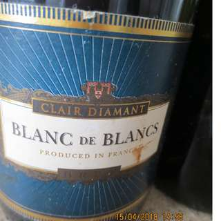 Clair Diamant - Blanc de Blancs- Chardonnay France法國白氣酒