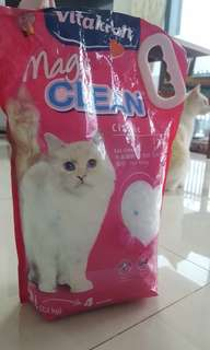 NEW Vitakraft Magic Clean Cat Litter 5L