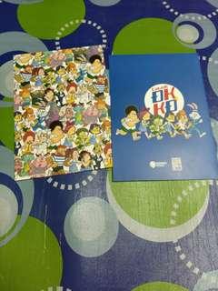 OK-KO Hard Paper Folder